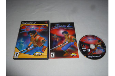 PLAYSTATION PS2 LEGAIA 2 DUEL SAGA GAME COMPLETE W CASE ...