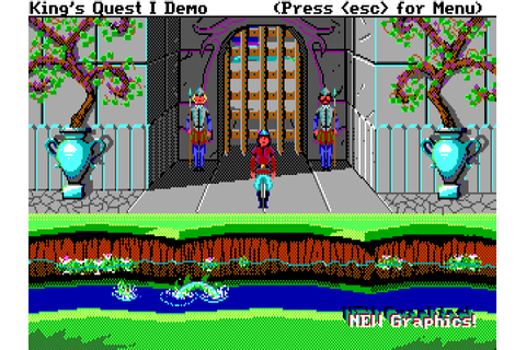 Download King's Quest: Quest for the Crown | DOS Games Archive