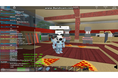 roblox Pizza Tycoon! 2 PLAYER! code!!! - YouTube