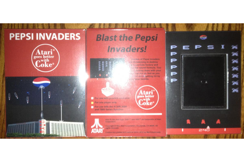 ORIGINAL PEPSI INVADERS cart with extra's,PRICE LOWERED ...