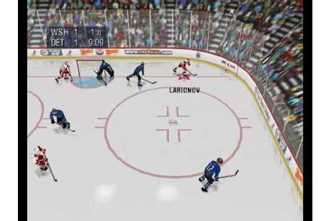 NHL 99 - Nintendo 64 Gameplay - YouTube