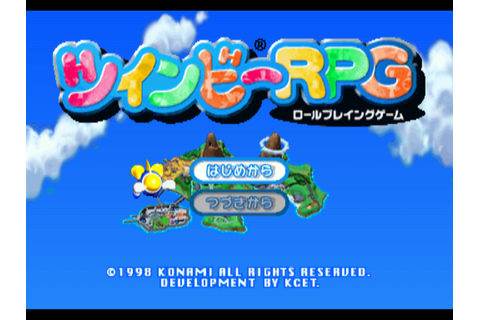 Chokocat's Anime Video Games: 1900 - TwinBee (Sony ...