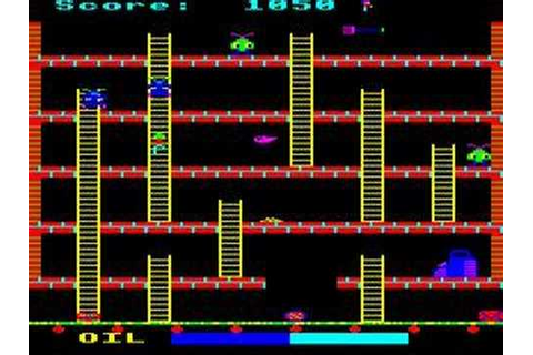 BBC Micro game Felix In The Factory - YouTube