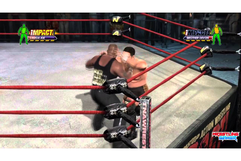 Time for a new TNA Impact Wrestling Video game - YouTube