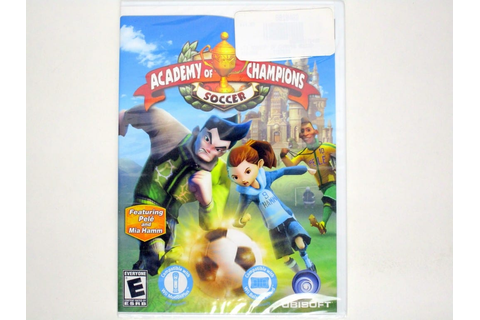 Academy of Champions Soccer game for Wii (New) | The Game Guy