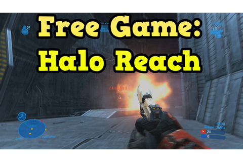 Halo Reach Free To Download! (Free Games With Gold Xbox ...