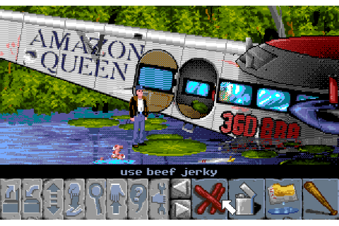 Flight Of The Amazon Queen - The Company - Classic Amiga Games