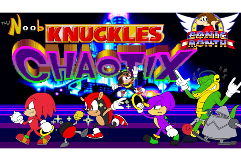 Knuckles Chaotix, ThuN00b Review - YouTube