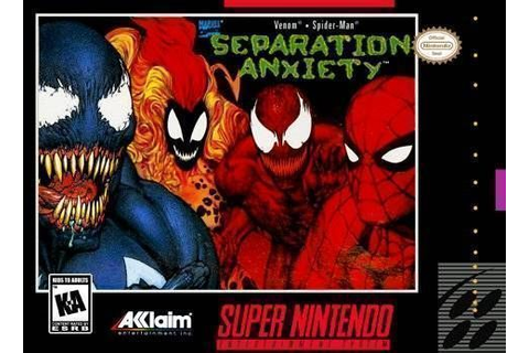 Spider-Man & Venom - Separation Anxiety (USA) ROM