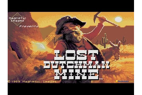 Lost Dutchman Mine gameplay (PC Game, 1989) - YouTube