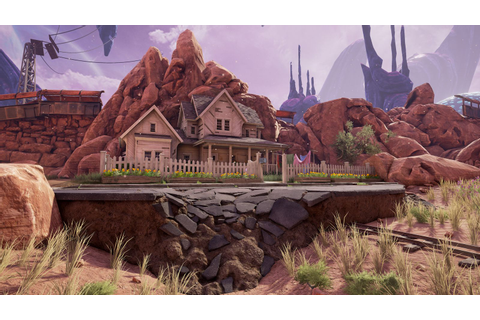 Obduction is a beautiful virtual world that shows the ...