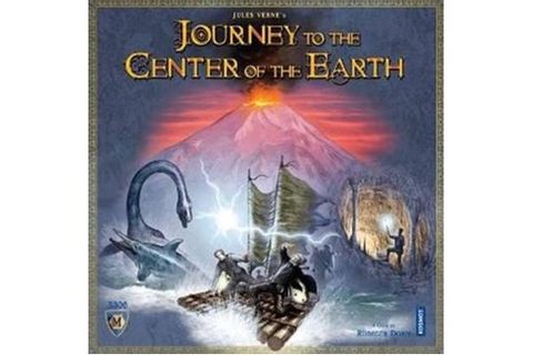 Journey to the Center of the Earth Boardgame | Zatu Games