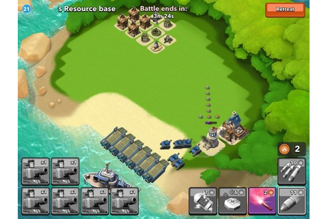 Boom Beach Strategy Game Available Now