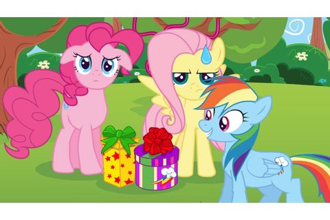 Fluttershy and Pinkie Pie Surprise Party for Rainbow Dash ...