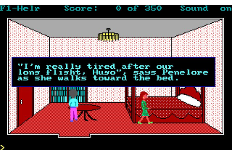 Hugo 2: Whodunit? adventure for DOS (1991) - Abandonware DOS
