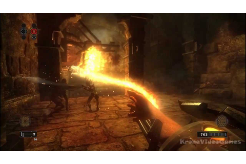 Clive Barker's Jericho Gameplay PC HD - YouTube