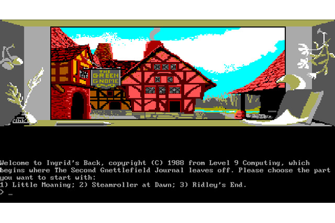 Download Gnome Ranger 2: Ingrid's Back adventure for DOS ...