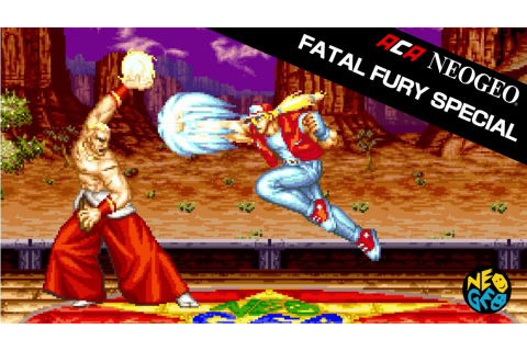 Fatal Fury Special Is Next Week's ACA Neo Geo Game ...