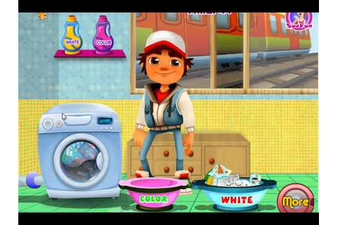 Subway Surfers Laundry cool games for boys and Kids ...