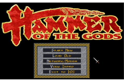 GAMES:Hammer of the Gods - DOSBoxWiki