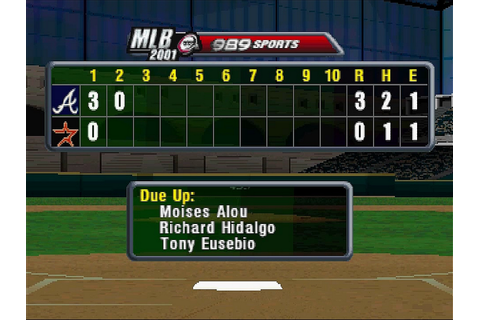 MLB 2001 Download Game | GameFabrique