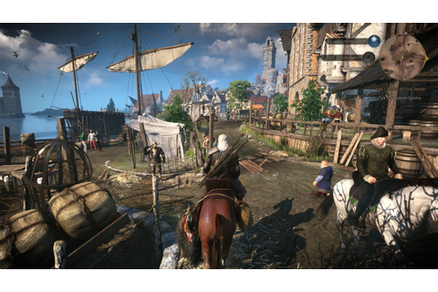 The Witcher 3: Wild Hunt - Official Gameplay (35 min ...