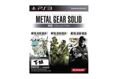Metal Gear Solid HD Collection Playstation3 Game