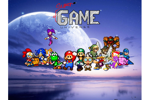 Super Game Universe (Working Title) by CJPrime93 on DeviantArt