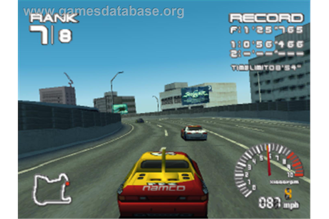 R4 Ridge Racer Type 4 - Sony Playstation - Games Database