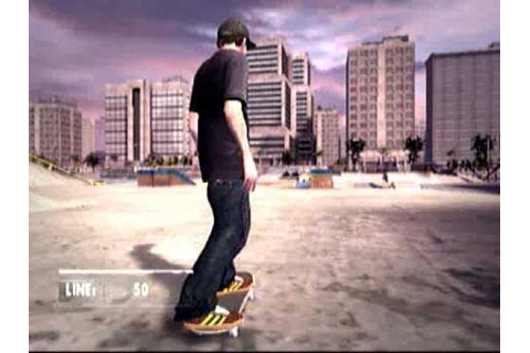 skate it wii gameplay footage (high quality) - YouTube