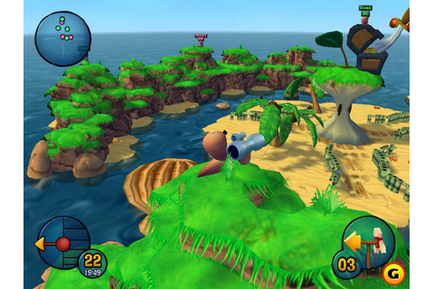 Worms 3D (Game Cube, PS2, PC)