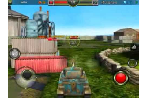 Iron Force Tank Game Taurus Non-Upgraded - YouTube