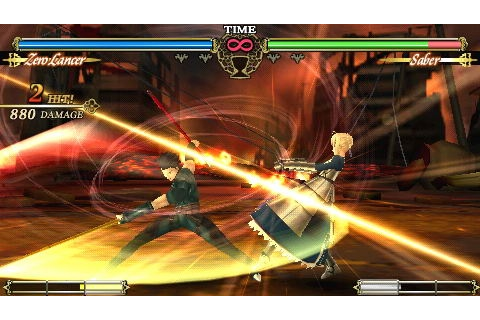Fate unlimited codes PSP | Shinyui