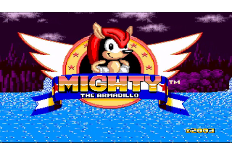 Mighty the Armadillo {hack} (SEGA Genesis Rom Hack ...