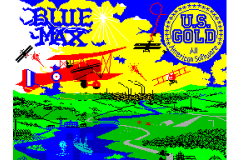 Blue Max (1984) by U.S. Gold ZX Spectrum game