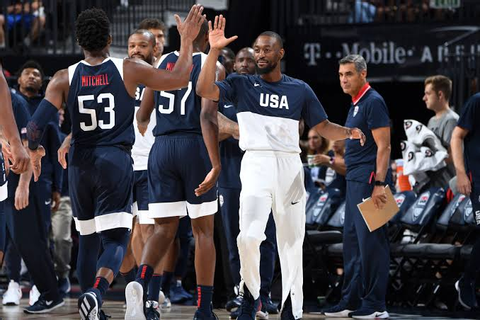 NBA: Team USA Beats Australia in the Biggest Basketball ...