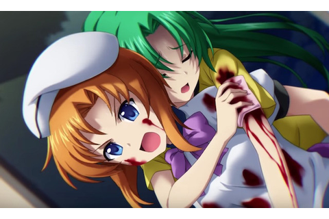 "Crunchyroll - ""Higurashi no Naku Koro ni Hou"" Visual Novel ..."