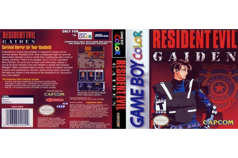 Resident Evil Gaiden - GBC ROM Free Download