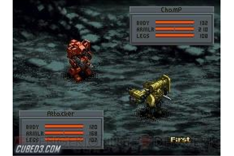 Front Mission 2089: Border of Madness on (Nintendo DS ...