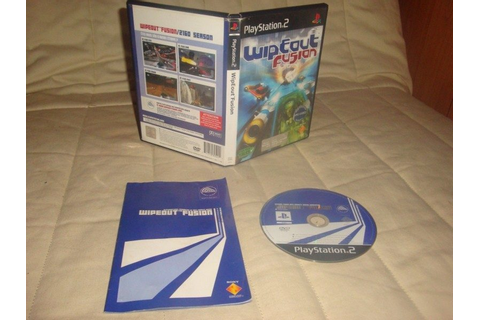 WipEout Fusion (2002) by Studio Liverpool PS2 game