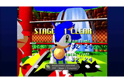 Sonic the Fighters (Xbox Live Arcade) Arcade as Sonic ...