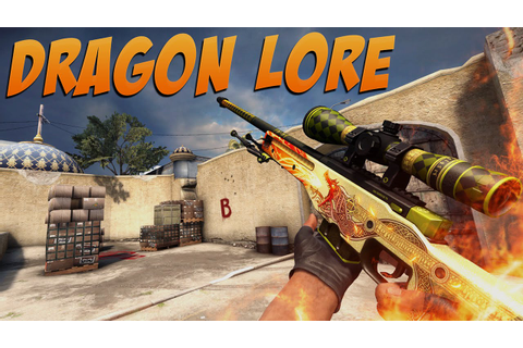 CS:GO - AWP Dragon Lore Gameplay - YouTube