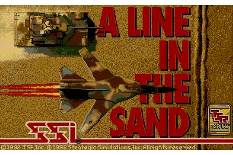 Line in The Sand Download (1992 Strategy Game)