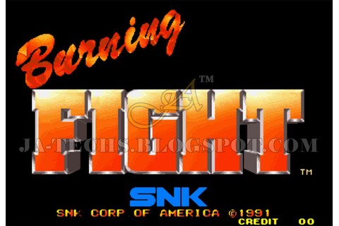 Burning Fight Game | J.A Technologies | Place 2 Get Full ...