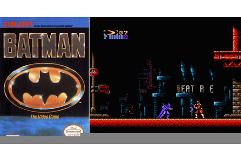 Play Batman: The Video Game on NES