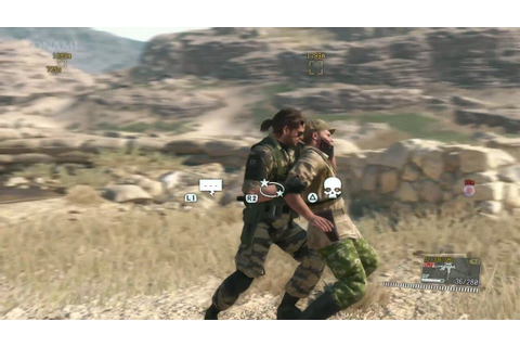 Metal Gear Solid V: The Phantom Pain gameplay - YouTube