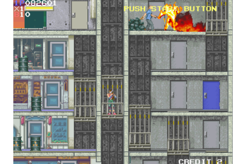 RETRO SPIRIT GAMES: Retro Review - Elevator Action Returns ...