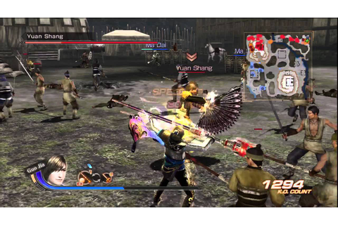 Dynasty Warriors 7: Xtreme Legends Guo Jia Gameplay - YouTube