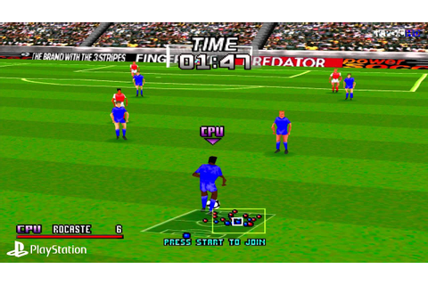 [PS1] Adidas Power Soccer Gameplay with ePSXe (Full HD ...