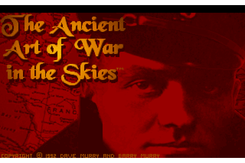 The Ancient Art of War in the Skies (1992) by Evryware MS ...